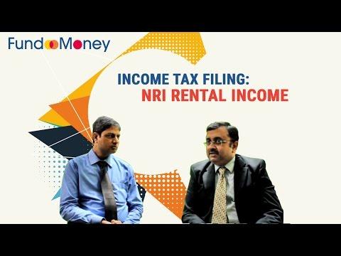 Income Tax filing: NRI Rental Income