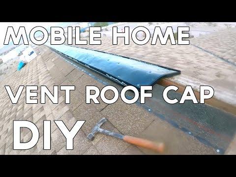 DIY Mobile Home Roof Vent Cap