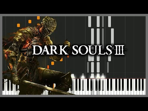 Soul of Cinder - Dark Souls III [Piano Tutorial] (Synthesia) // AqareCover