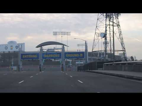 Car ride to Golden State Warriors Oracle Arena