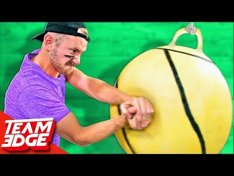 GIANT Tetherball Challenge!!