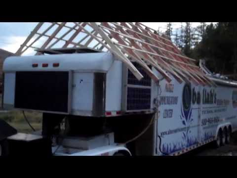 2 RV Gable Roof System, Wildfire Communications Center