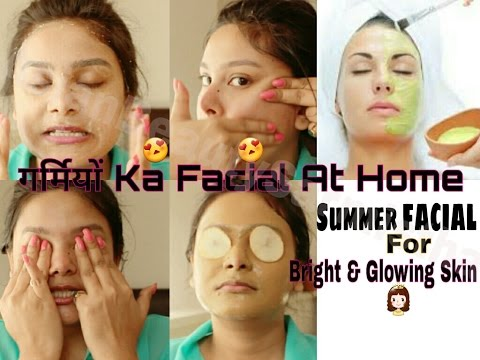 Skin Whitening Summer Facial At Home For Glowing & Bright Skin   AsianBeautySarmistha