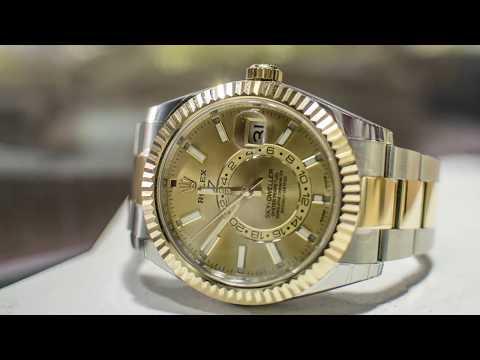 How to Use the Rolex Sky Dweller - Video Review, Demonstration, and Instructions