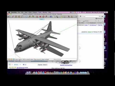 Tutorial 3D objects - iMovie / After Effects / Final Cut + Free 3D animation software (Tut 6 of 13)