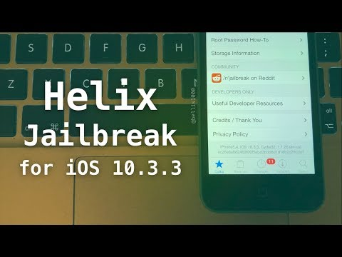 How to Jailbreak iOS 10.3.3 with H3lix - NEW Jailbreak for 32-bit iOS 10.x Devices