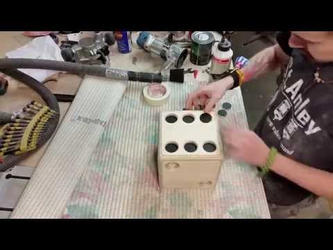 Big wood dice