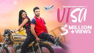 Visa (Full Video) | Resham Singh Anmol | New Punjabi Songs 2019 | Uproar Production