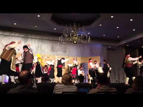 HDF 2015: Thrylos presenting dance from Pentalofos, Evros (Holy Trinity Charlotte, NC)