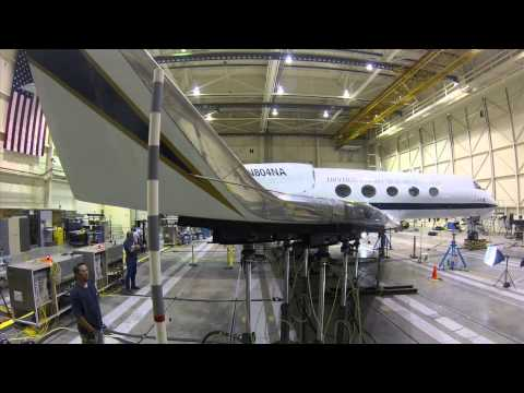 NASA G-III to Flight Test Shape-Changing Composite Flap