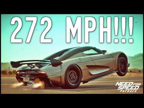 NFS Payback - 272MPH KOENIGSEGG REGERA with RARE UPGRADES!!