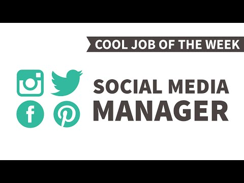 Cool Job of the Week: Social Media Manager