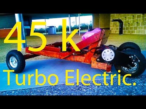 1000 watt DIY ROGUE  scooter modded go kart OLD SCHOOL easy