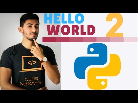 Learn Python Programming - 2 - Hello World