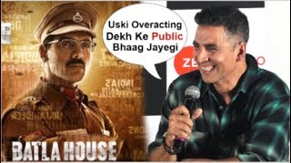 Akshay Kumar FUNNY Reaction On John Abraham's Batla House CLASH With Mission Mangal