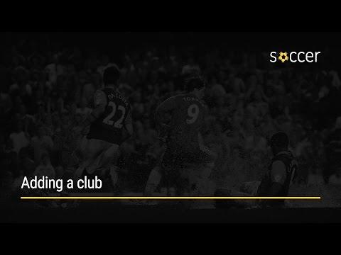 WP Soccer Tutorial: Adding a club