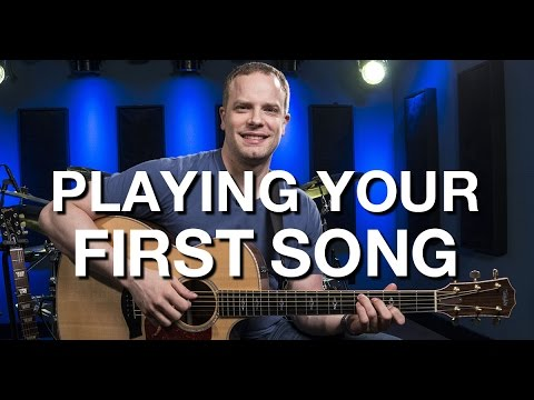 Playing Your First Song - Beginner Guitar Lesson #10