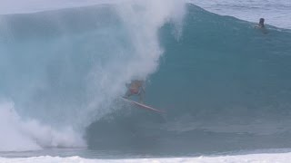 Kalani Chapman's Wave and Rescue. Pipeline January 13th
