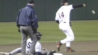 Download 1996ALCS Gm3: Zeile spikes ball, Williams scores Video