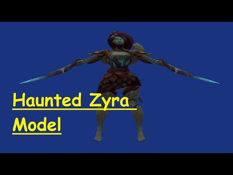Haunted Zyra Skin & Officer Vi Skin - Harrowing Ward Skins Mystery Gifting (League of Legends) LOL