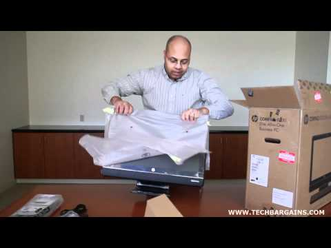 HP Compaq 8200 Elite All In One Business PC Unboxing (HD)