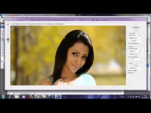 Easy Way To Remove Background Of An Image In PhotoShop CS3