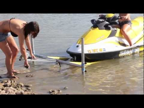 Jet ski dock thats portable