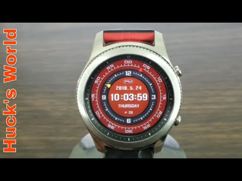 Gear S3 Funday Sunday Watch Face Review