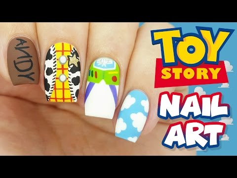 Toy Story Nail Art Tutorial