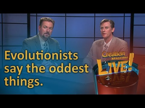 Evolutionists say the oddest things (Creation Magazine LIVE! 6-17)