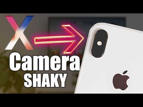 The iPhone X has a CAMERA PROBLEM SHAKING - Fix Solution, You may not like it.
