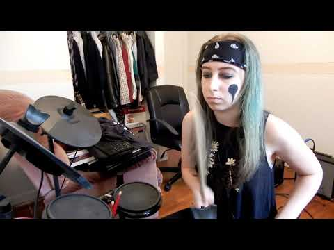 BLACK VEIL BRIDES - IN THE END (DRUM COVER)