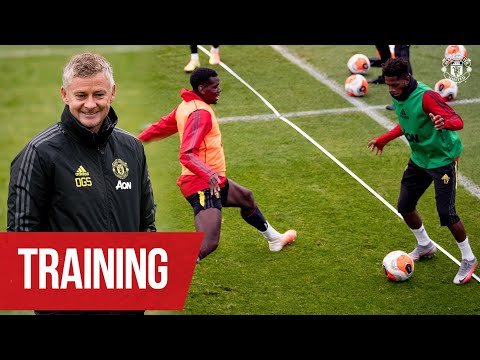 Training | Ole's Reds working hard ahead of Brighton clash | Brighton v Manchester United