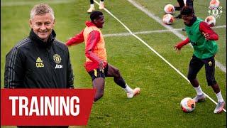 Training | Ole's Reds working hard ahead of Brighton clash | Brighton v Manchester United