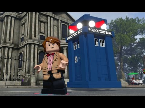 LEGO Dimensions - TARDIS Fully Upgraded - All 3 Versions (Vehicle Showcase)