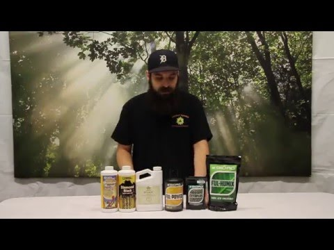 How and when to use Fulvic Acid or Humic Acid in your garden