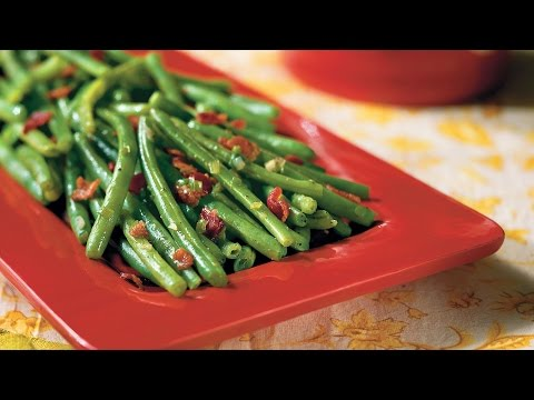 Sautéed Green Beans With Bacon | Southern Living
