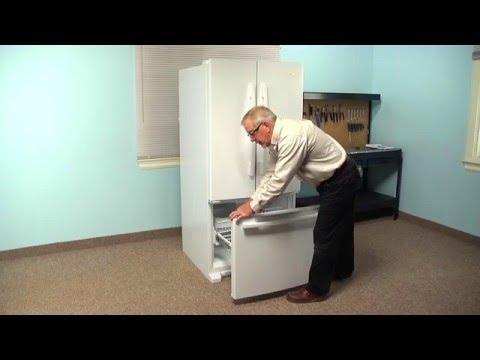 Refrigerator Repair - Replacing the Freezer Door Gasket (Whirlpool Part # W10571962)