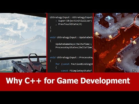 Why C++ for Game Development