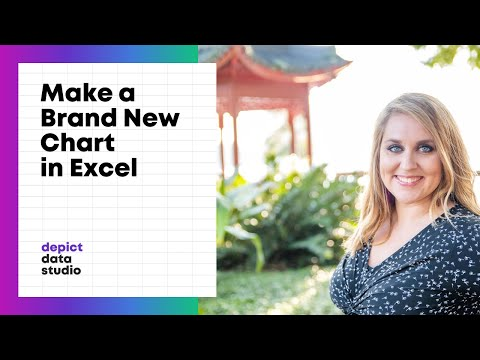 How to Insert a Brand New Chart in Excel