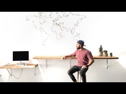 Live Edge Bar/Desk Build
