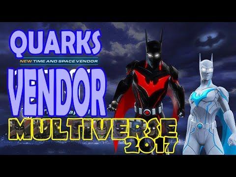 DCUO; Quarks Vendor