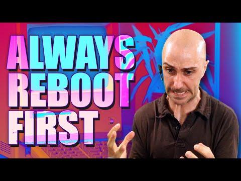Reenactments: Always Reboot First