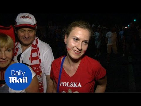 Poland fans dissapointed at loss to Portugal on penalties - Daily Mail