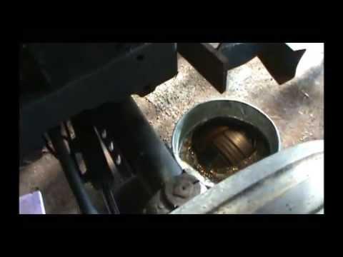 NH 3930 Power Steering Cylinder Rebuild