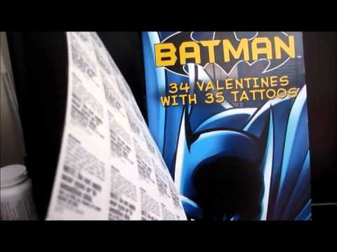 Batman Product Spotlight: Batman Valentines (Shopko)