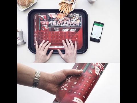 KFC Tray Typer keyboard is finger clickin' good - Lanches in Germany