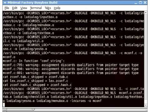 Building a minimal Busybox based root file system (RFS) from scratch