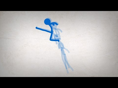 ALAN BECKER - Stick Figure Animation (revamped)