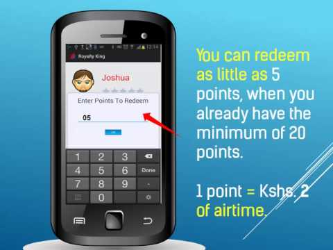REDEEM YOUR POINTS FOR AIRTIME OR DATA BUNDLES